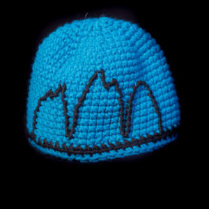 Three peaks children hats