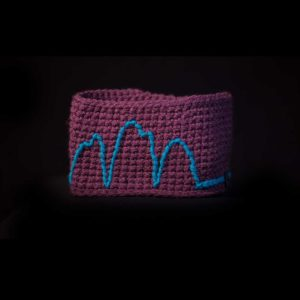 Three peaks headband